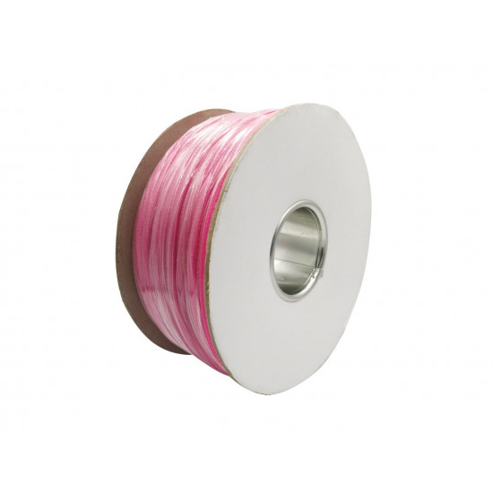 Dragon Switch | Braided Cable Sleeve PET - 6mm Expandable - Pink - 656Feet Spool