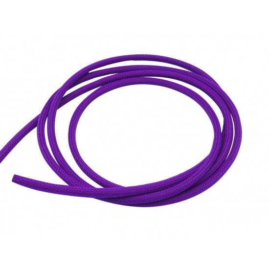 Dragon Switch | Braided Cable Sleeve PET - 6mm Expandable - Violet