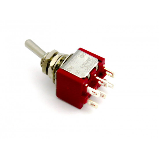 Dragon Switch | DPDT Mini Toggle Switch ON-ON