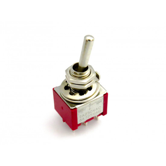 Dragon Switch | DPDT Mini Toggle Switch ON-OFF-ON