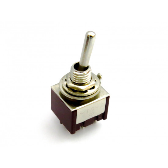 Dragon Switch | DPDT Mini Toggle Switch ON-ON-ON