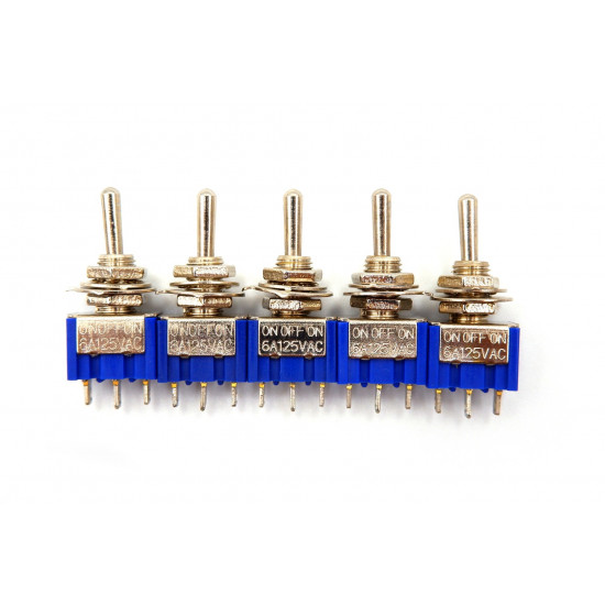 Dragon Switch   SPDT On--Off-On Mini Three Way Toggle Switch